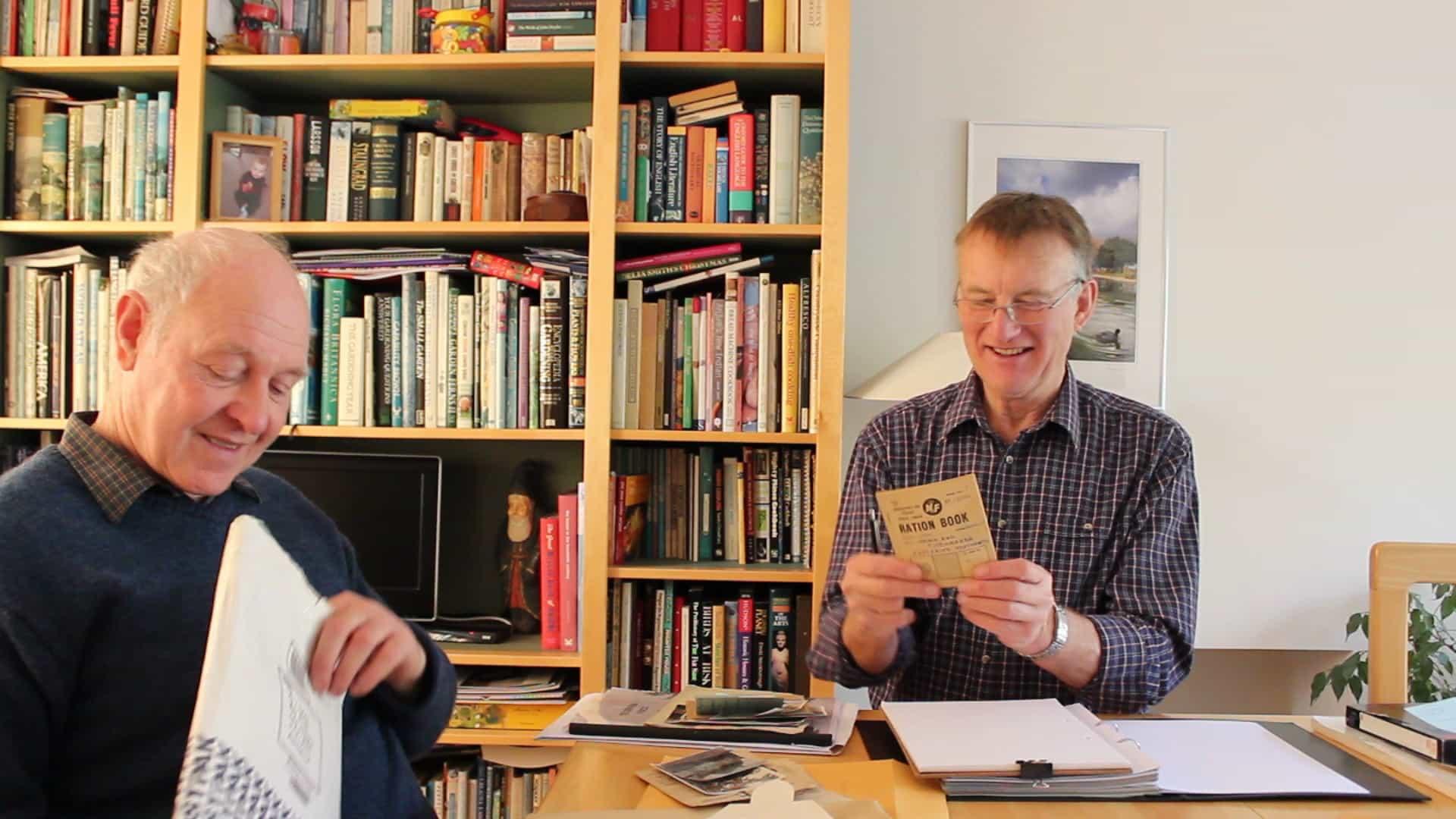 still of IC interviewing David Hackney