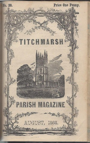 front cover of a parish magazine